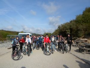 The 30km bike ride with Truro Girl's School