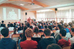 Messe de rentrée au Lycée Sainte-Anne