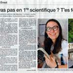 Ouest-France - article du 31/08/2017