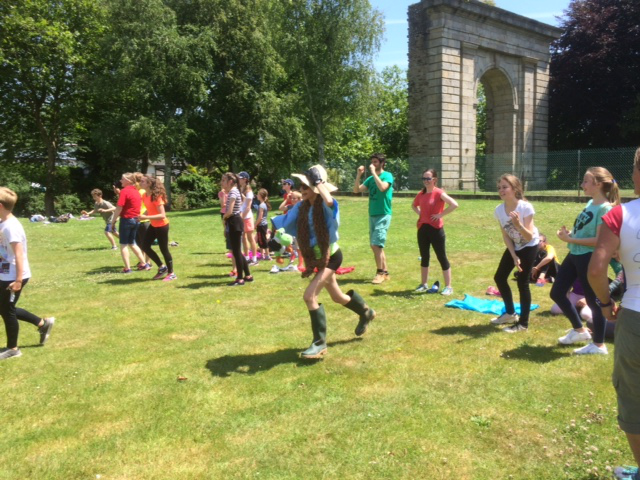 Sport Day at Sainte-Anne